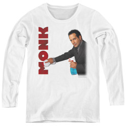 Image for Monk Women's Long Sleeve T-Shirt - Clean Up