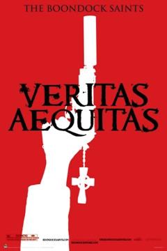Image for Boondock Saints Poster - Veritas Red