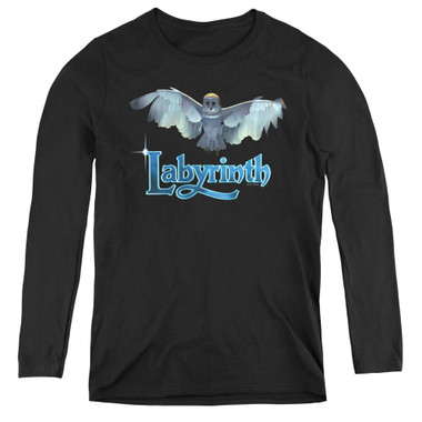Image for Labyrinth Women's Long Sleeve T-Shirt - Title Sequence