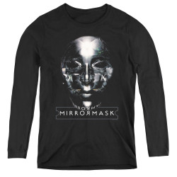 Image for MirrorMask Women's Long Sleeve T-Shirt - Mask