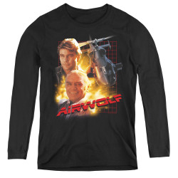 Image for Airwolf Women's Long Sleeve T-Shirt