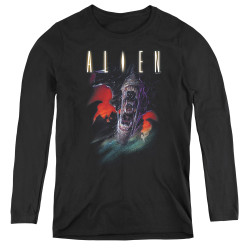 Image for Alien Women's Long Sleeve T-Shirt - Double Jaws