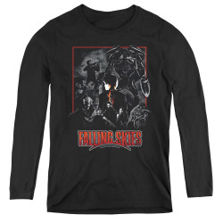 Image for Falling Skies Women's Long Sleeve T-Shirt - Collage