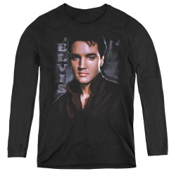 Image for Elvis Women's Long Sleeve T-Shirt - Tough