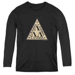 Image for Revenge of the Nerds Women's Long Sleeve T-Shirt - Tri Lambda Logo