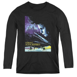 Image for Edward Scissorhands Women's Long Sleeve T-Shirt - Poster