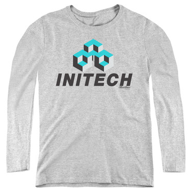 Image for Office Space Women's Long Sleeve T-Shirt - Initech Logo