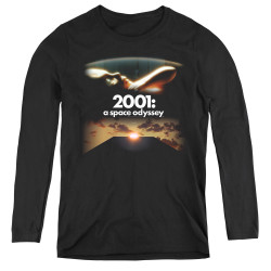 Image for 2001: A Space Odyssey Women's Long Sleeve T-Shirt - Prologue