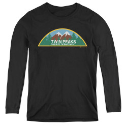 Image for Twin Peaks Women's Long Sleeve T-Shirt - Sheriff Department