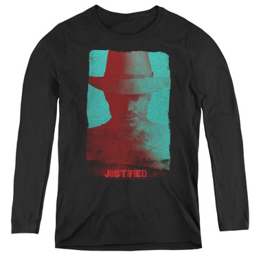 Image for Justified Women's Long Sleeve T-Shirt - Silhouette