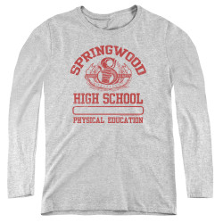 Image for A Nightmare on Elm Street Women's Long Sleeve T-Shirt - Springwood High Phys Ed