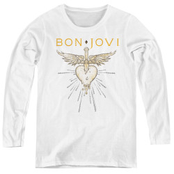 Image for Bon Jovi Women's Long Sleeve T-Shirt - Greatest Hits