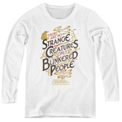 Image for Fantastic Beasts: the Crimes of Grindelwald Women's Long Sleeve T-Shirt - Blinkered People