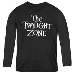 Image for The Twilight Zone Women's Long Sleeve T-Shirt - Logo