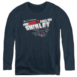 Image for Airplane Women's Long Sleeve T-Shirt - Don't Call Me Shirley