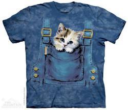 Image for The Mountain T-Shirt - Kitty Overalls