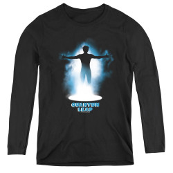 Image for Quantum Leap First Jump Women's Long Sleeve T-Shirt