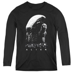 Image for Alien Women's Long Sleeve T-Shirt - Evolution