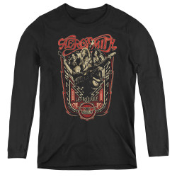 Image for Aerosmith Women's Long Sleeve T-Shirt - Let Rock Rule