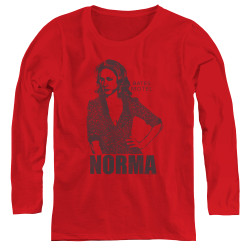 Image for Bates Motel Women's Long Sleeve T-Shirt - Norma