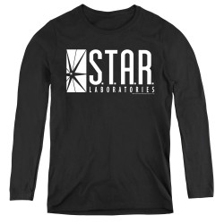 Image for Flash TV Show Women's Long Sleeve T-Shirt - S.T.A.R. Laboratories