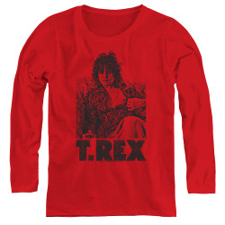 Image for T Rex Women's Long Sleeve T-Shirt - Lounging