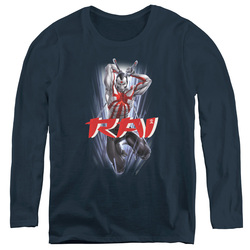 Image for Rai Women's Long Sleeve T-Shirt - Leap and Slice