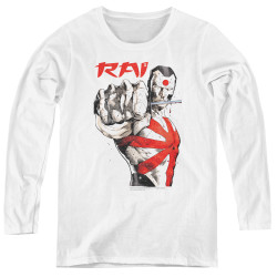 Image for Rai Women's Long Sleeve T-Shirt - Sword Drawn