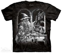 Image for The Mountain T-Shirt - Wizard & Dragon