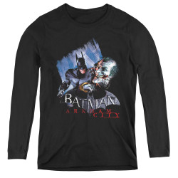 Image for Arkham City Women's Long Sleeve T-Shirt - Joke's On You!