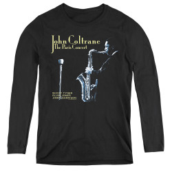 Image for John Coltrane Women's Long Sleeve T-Shirt - Paris Coltrane
