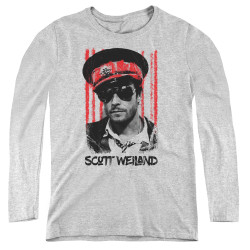 Image for Scott Weiland Women's Long Sleeve T-Shirt - Black Hat