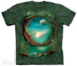 Image for The Mountain T-Shirt - Moon Tree