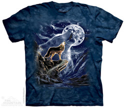 Image for The Mountain T-Shirt - Wolf Spirit Moon