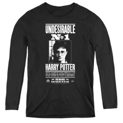 Image for Harry Potter Women's Long Sleeve T-Shirt - Undesirable No. 1