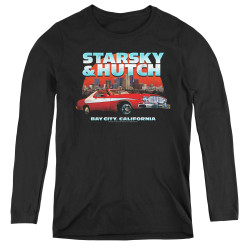 Image for Starsky & Hutch Women's Long Sleeve T-Shirt - Bay City