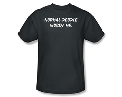 Normal People Worry Me T-Shirt Image 2