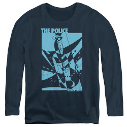 Image for The Police Women's Long Sleeve T-Shirt - Message in a Bottle