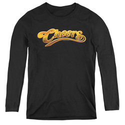 Image for Cheers Women's Long Sleeve T-Shirt - Logo