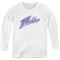 Image for Flashdance Women's Long Sleeve T-Shirt - Logo