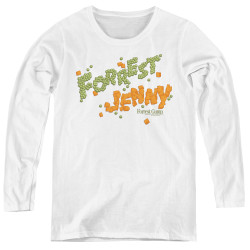 Image for Forrest Gump Women's Long Sleeve T-Shirt - Peas and Carrots