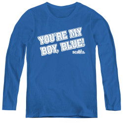 Image for Old School Women's Long Sleeve T-Shirt - My Boy Blue