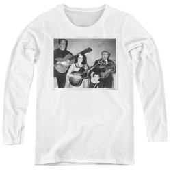 Image for The Munsters Women's Long Sleeve T-Shirt - Play It Again
