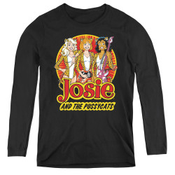 Image for Josie and the Pussycats Power Trio Women's Long Sleeve T-Shirt
