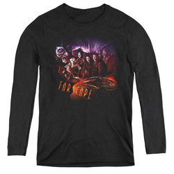 Image for Farscape Graphic Collage Women's Long Sleeve T-Shirt