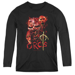 Image for Lord of the Rings Women's Long Sleeve T-Shirt - Orcs