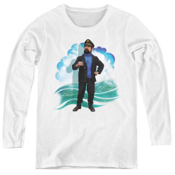 Image for The Adventures of Tintin Women's Long Sleeve T-Shirt - Haddock