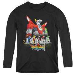 Image for Voltron Women's Long Sleeve T-Shirt - Lions