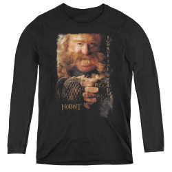 Image for The Hobbit Women's Long Sleeve T-Shirt - Bombur