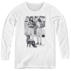 Image for Up In Smoke Women's Long Sleeve T-Shirt - Cheech Chong Dog